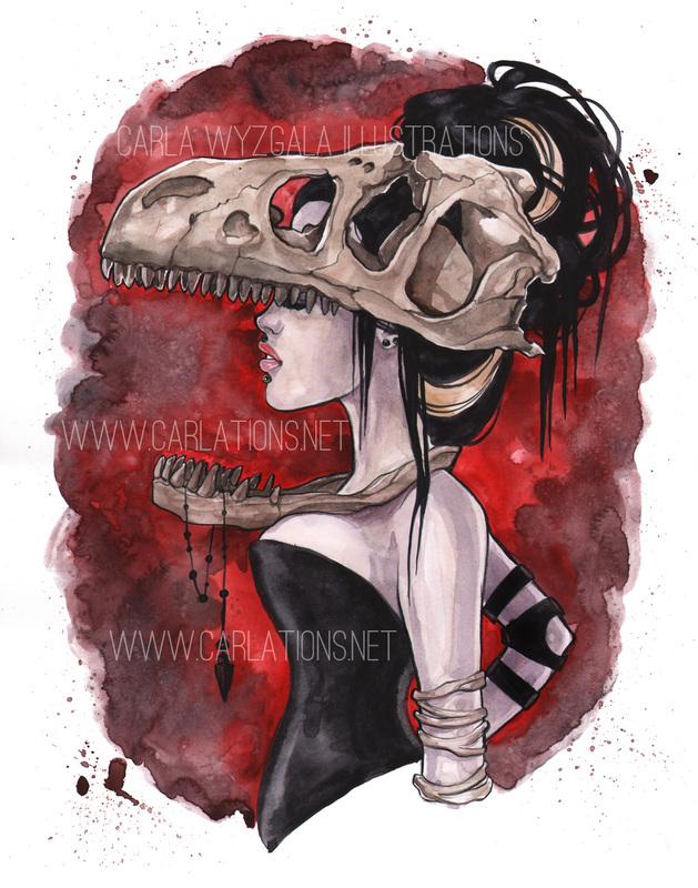 carla wyzgala skull masquerade 3