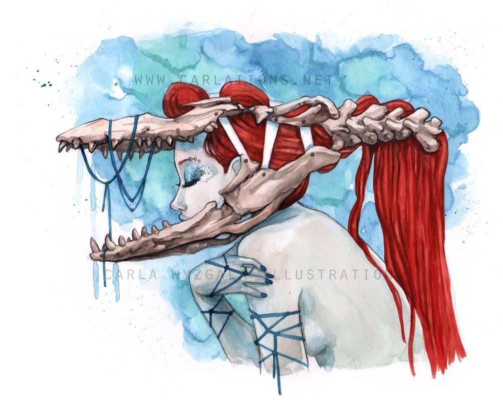 carla wyzgala skull masquerade 4