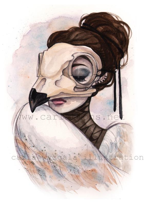 carla wyzgala skull masquerade 5