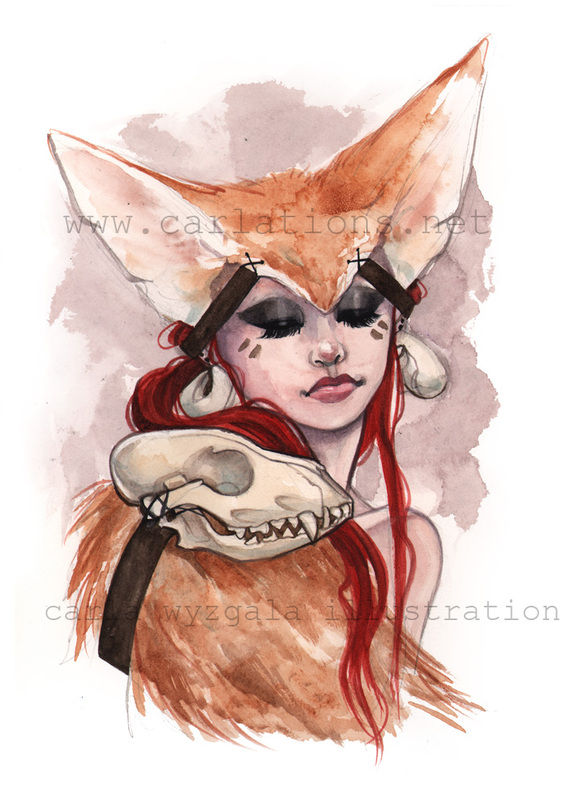 carla wyzgala skull masquerade 6