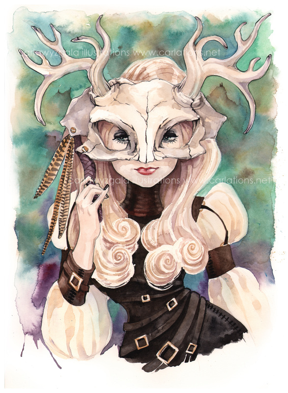 carla wyzgala skull masquerade 7
