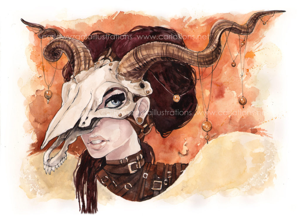 carla wyzgala skull masquerade 8