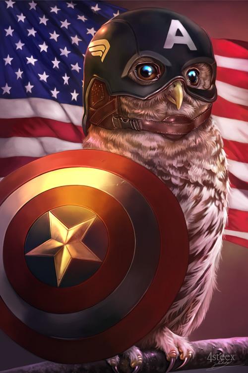 owl avengers captain america
