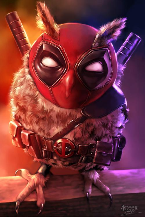 owl avengers deadpool