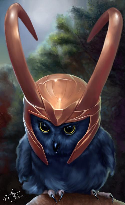 owl avengers loki 2