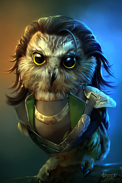owl avengers loki
