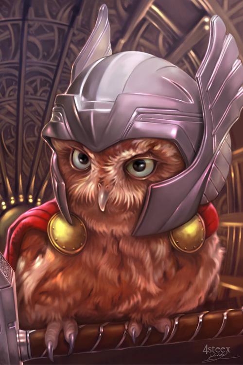 owl avengers thor