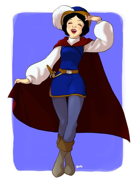 princesas disney costume swap Branca de Neve