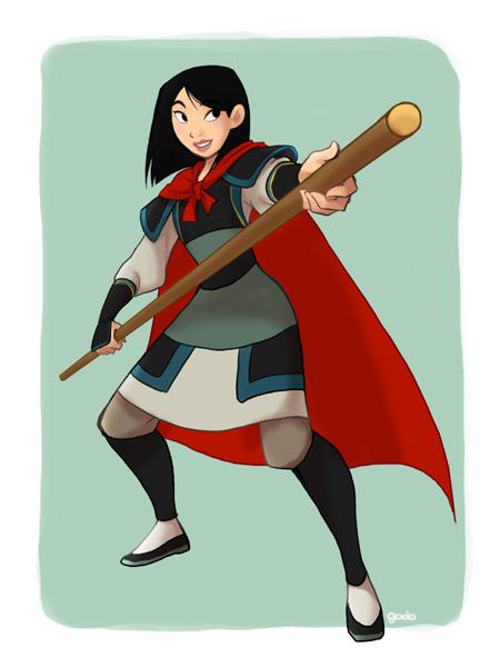 princesas disney costume swap Mulan