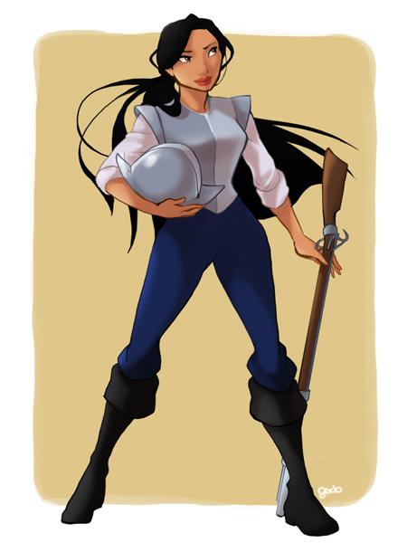 princesas disney costume swap Pocahontas John Smith