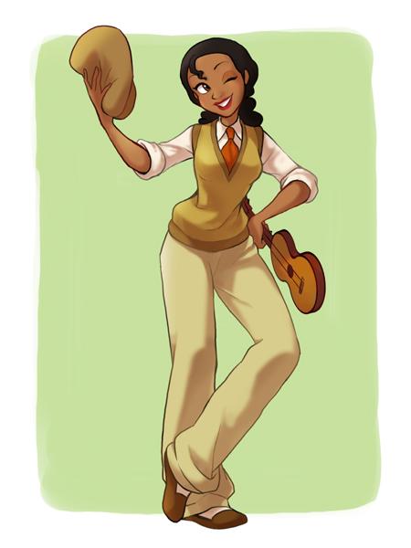 princesas disney costume swap Tiana