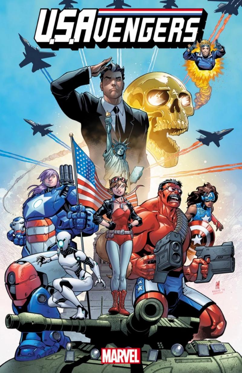 U.S.Avengers 1 capa
