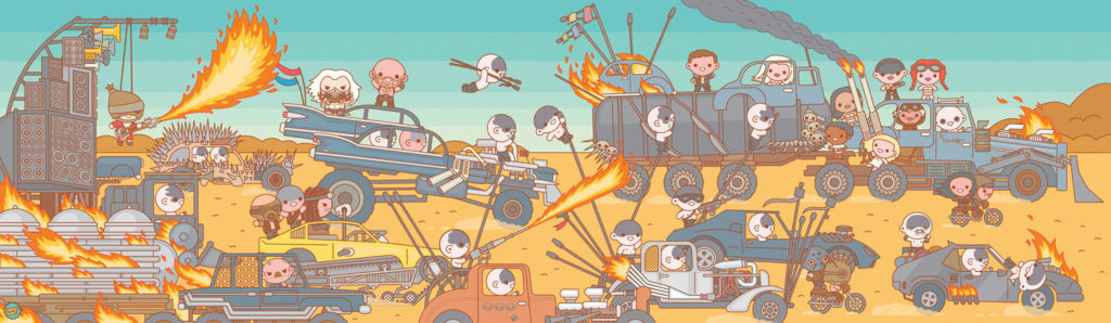 Mad Max Fury Road by Truck Torrence Mass Hysteria 2