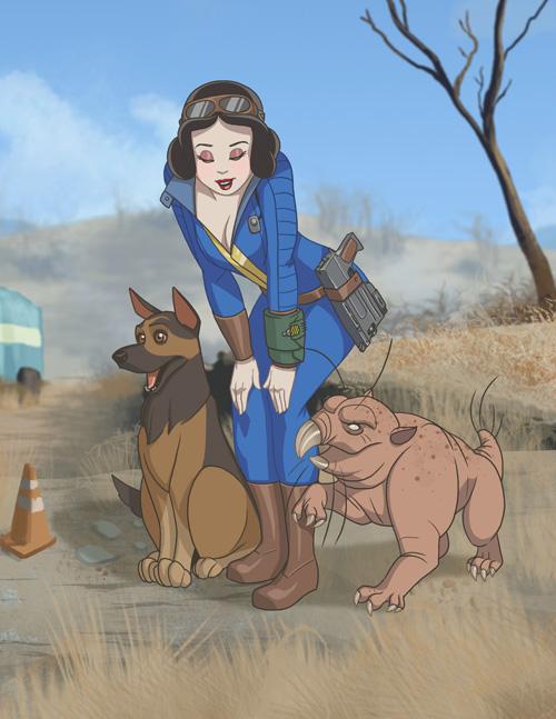 Vault Dweller/Animal Friend Snow White
