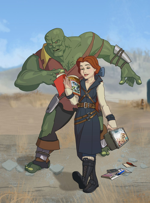 SPECIAL Belle & Super Mutant Gaston