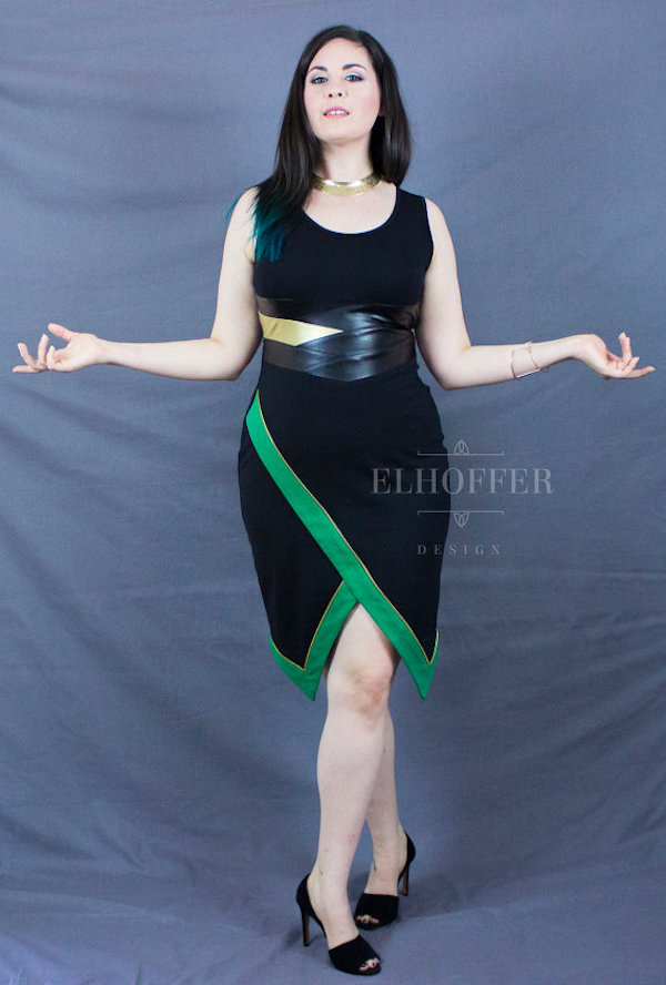 loki inspired dress