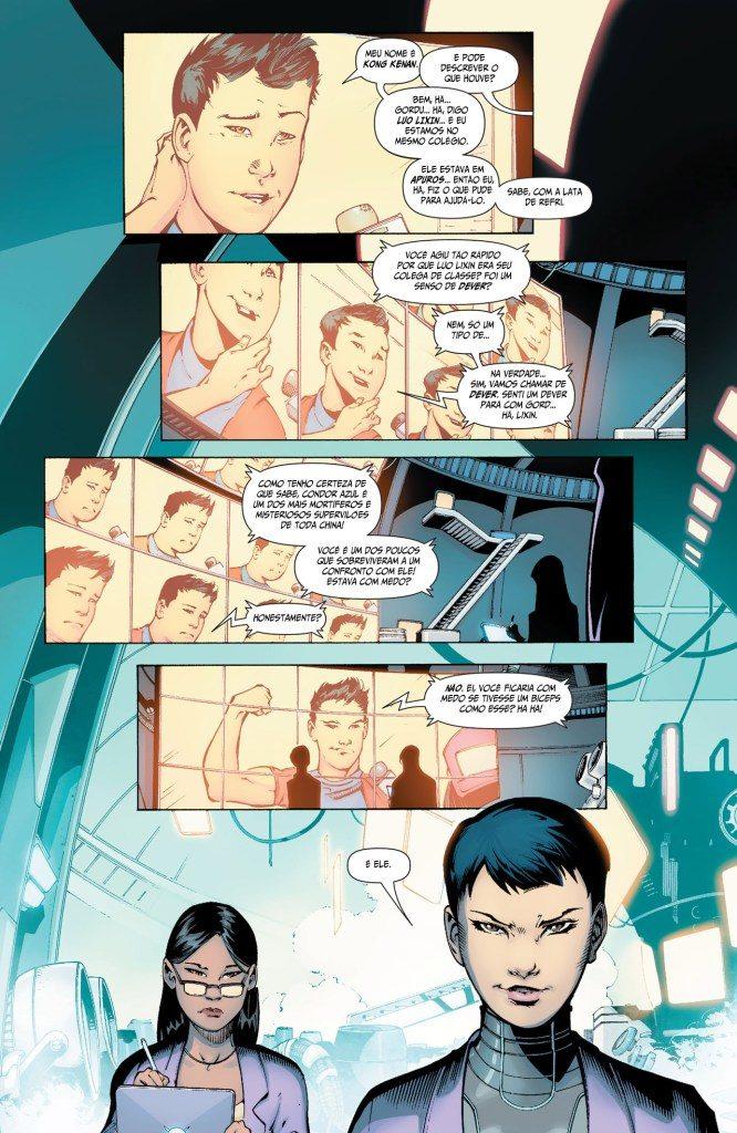 novo superman #1 pagina