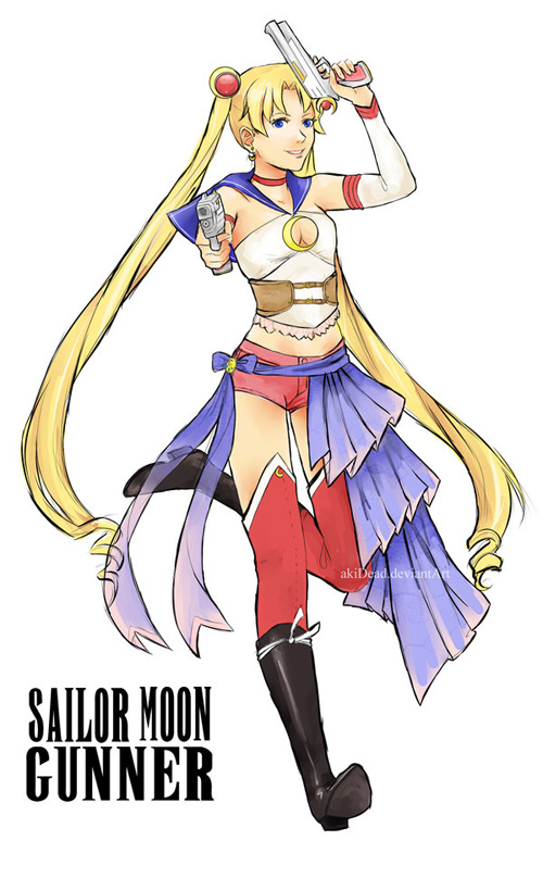 Sailor Moon + Final Fantasy