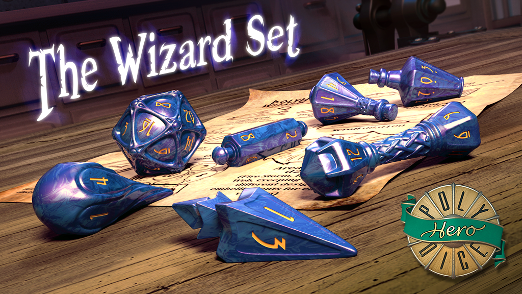 wizard dice set