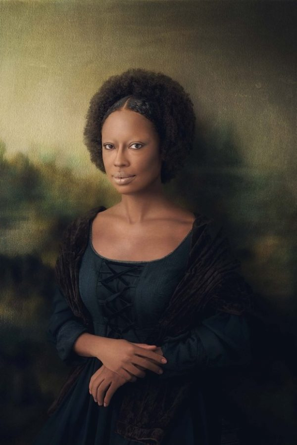 Mariana Nunes como Mona Lisa