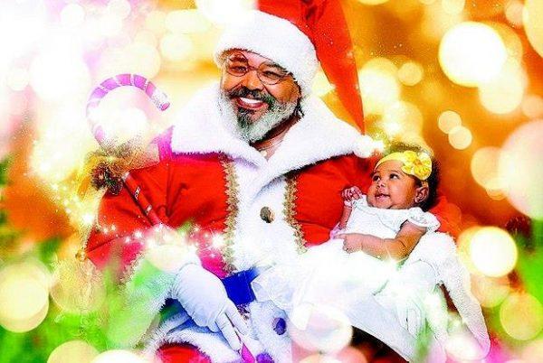 Jorge Aragão como Papai Noel