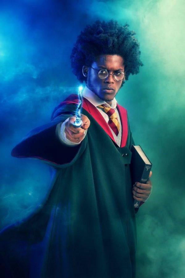 Malcon Rodrigues como Harry Potter