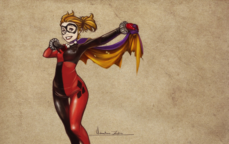 fun-harley-quinn-and-catwoman-fan-art-by-nabetse-zitro1