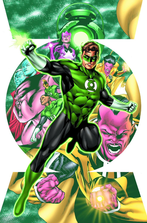 Resultado de imagem para hal jordan and green lantern corps