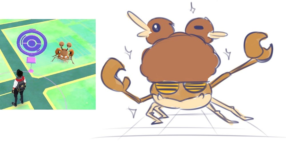 pokemon-go-glitch-krabby-doduo