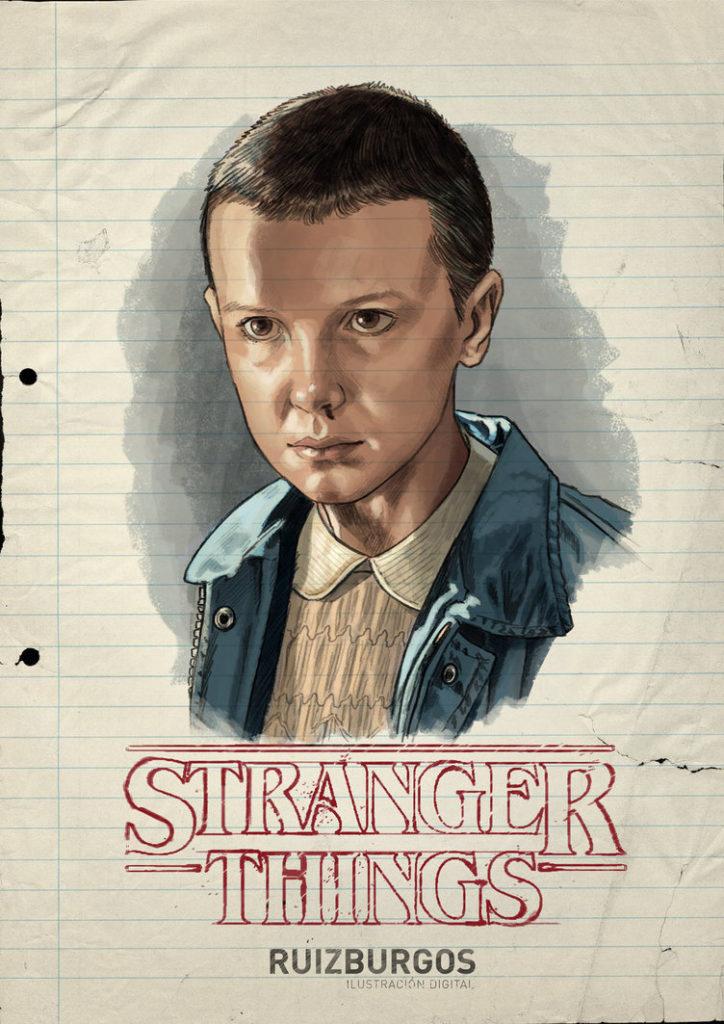 stranger-things-portraits-por-ruiz-burgos-eleven