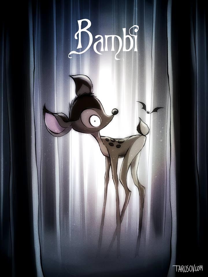 tim-burton-disney-tarusoy-bambi