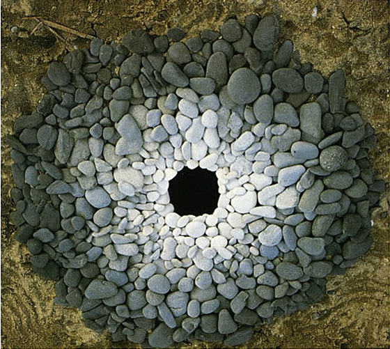 por Andy Goldsworthy