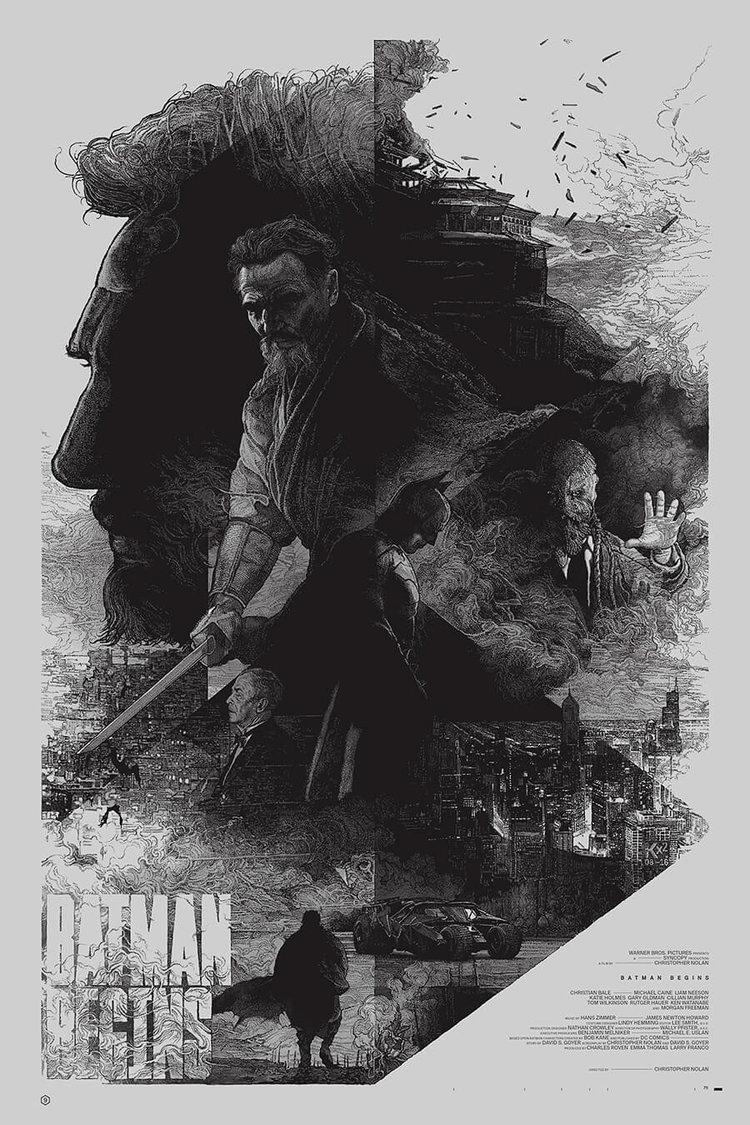 Batman do Nolan posters alternativos