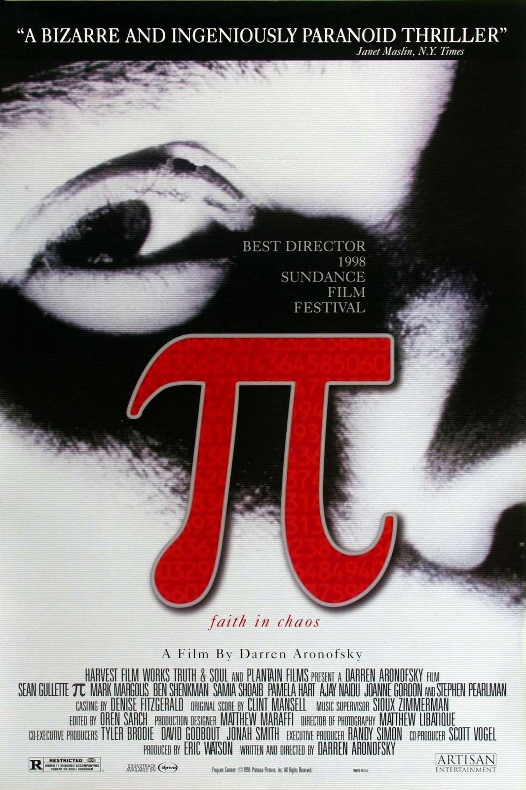 Pi filme poster