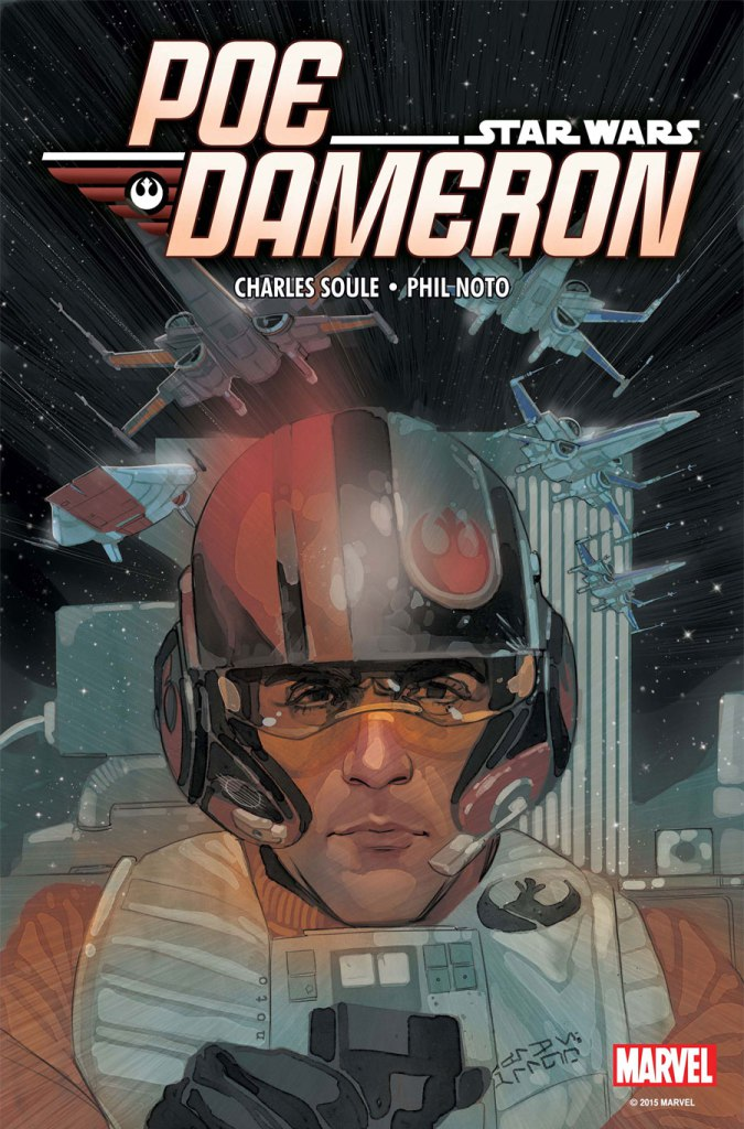 Star Wars Poe Dameron hq capa
