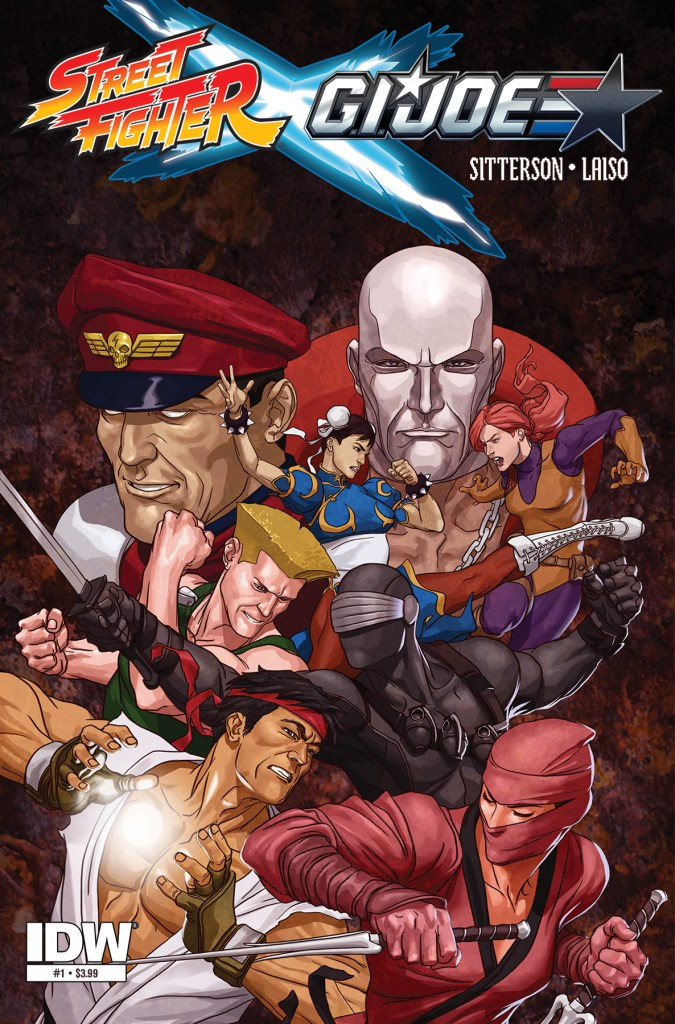 Street Fighter x G.I.Joe 1 cover