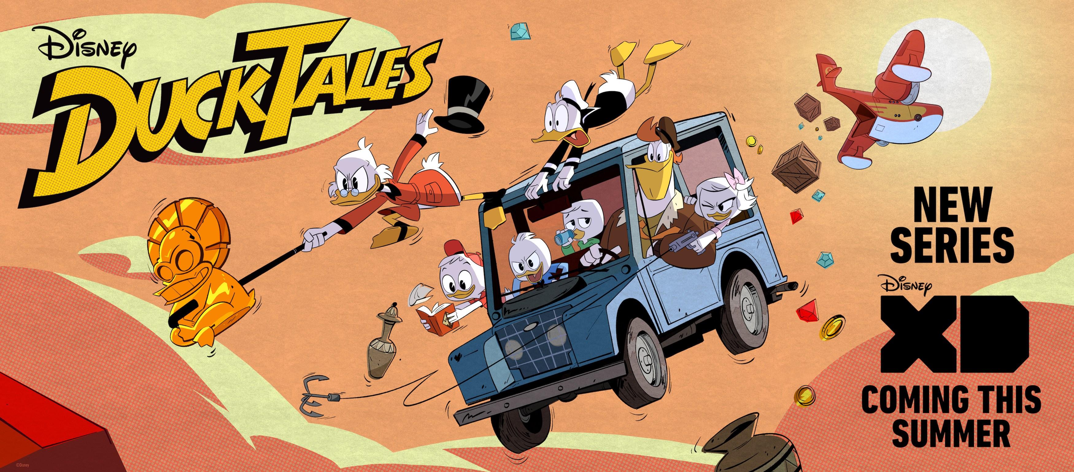 Duck Tales nova série trailer