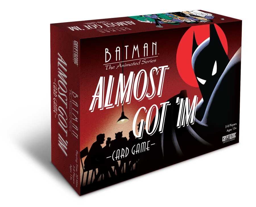 Batman: The Animated Series boardgame