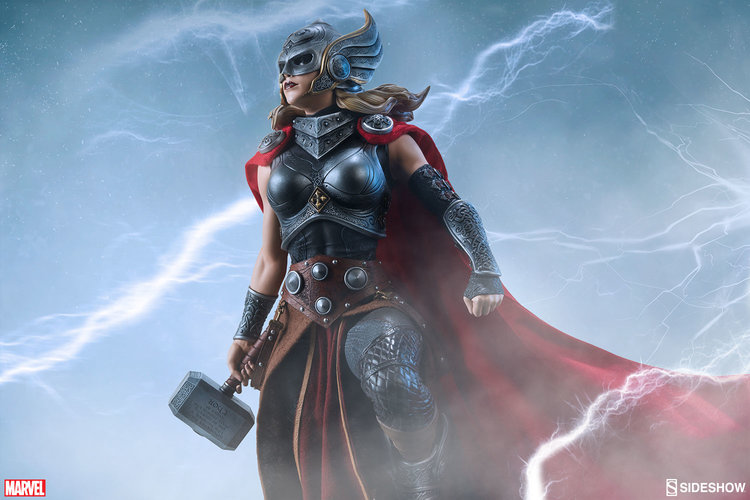 A poderosa Thor action figure