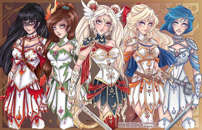 Sailor Moon Warriors