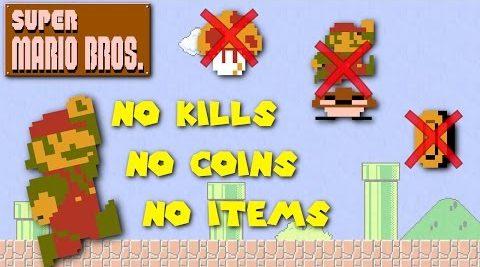 Super Mario Bros Pacifist Run