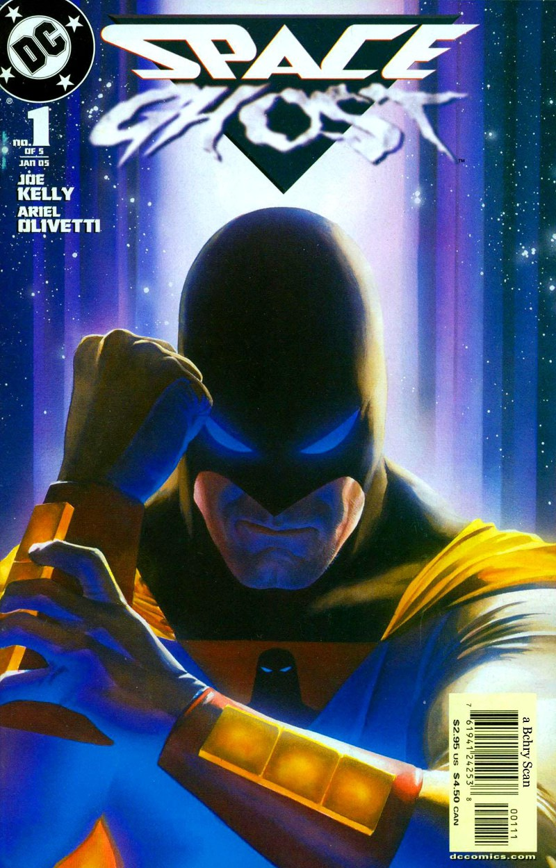 Space Ghost #1 cover