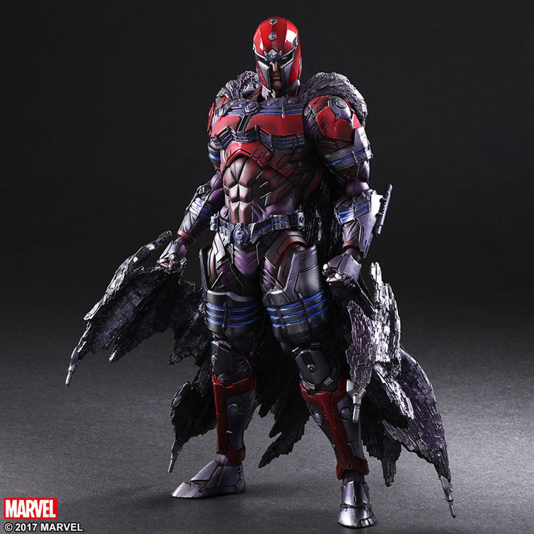 Magneto action figure square enix