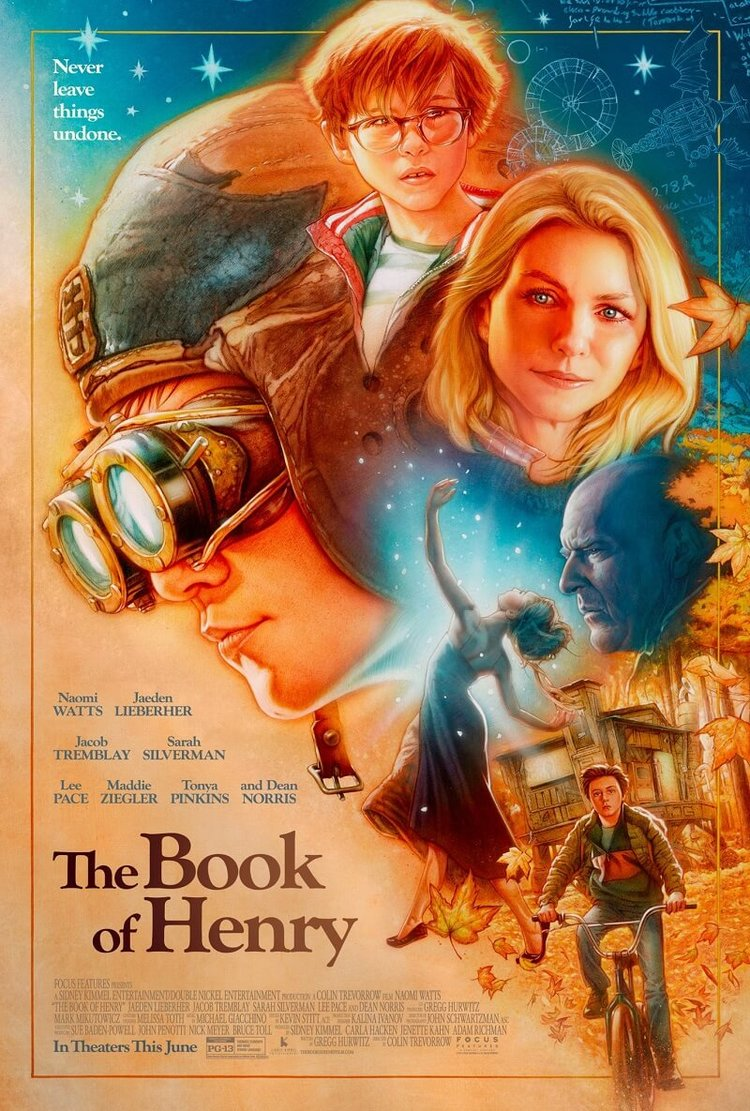 The Book of Henry: poster