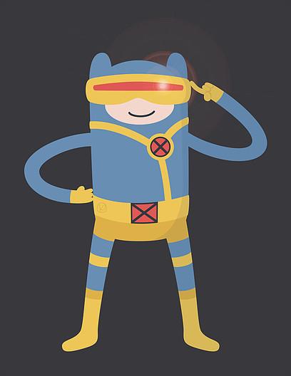 Hora de Aventura + X-Men