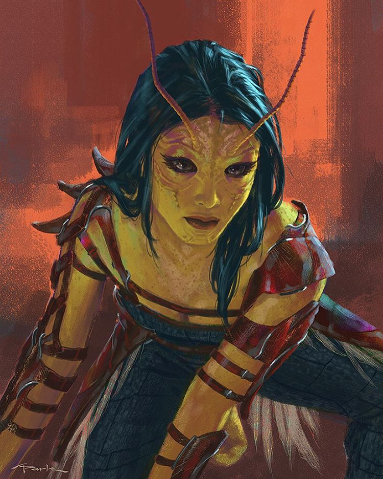 Guardiões da Galáxia vol 2 concept arts Mantis