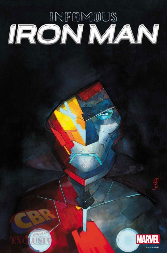 O Infame Homem de Ferro 1 capa