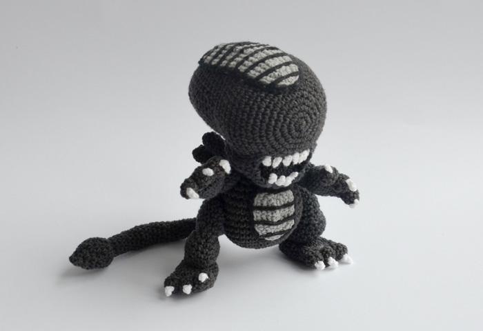 Alien de Crochê