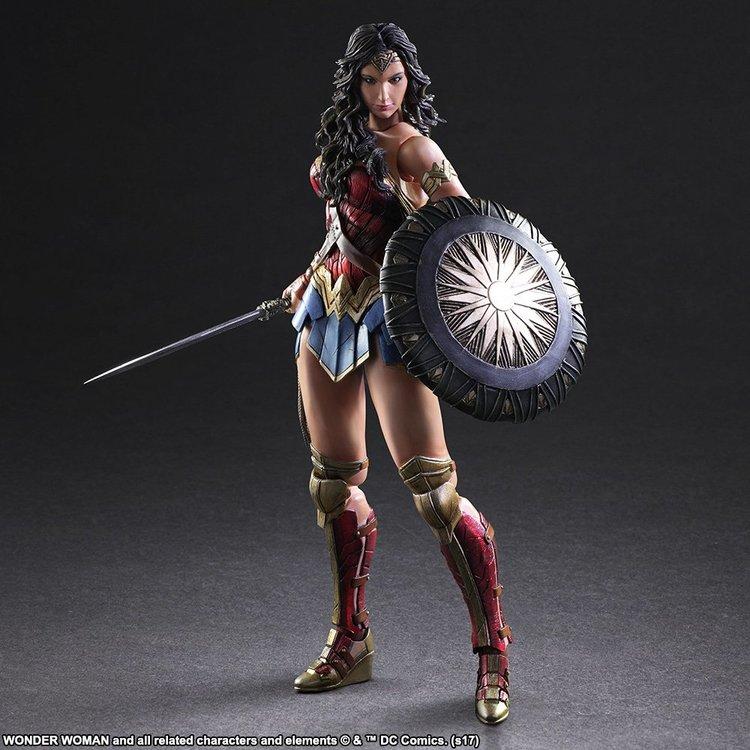 Mulher Maravilha, action figure pela Square Enix