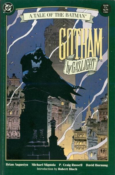 Batman Gotham By Gaslight capa